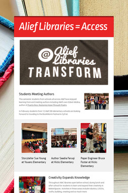 Alief Libraries = Access