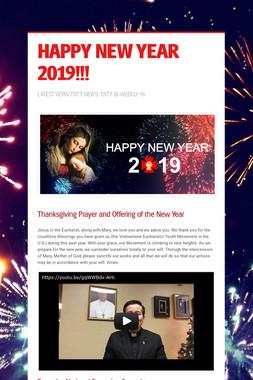 HAPPY NEW YEAR 2019!!!