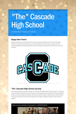 """The"" Cascade High School"