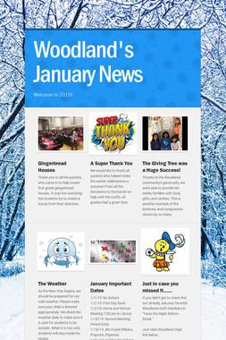 Woodland's January News