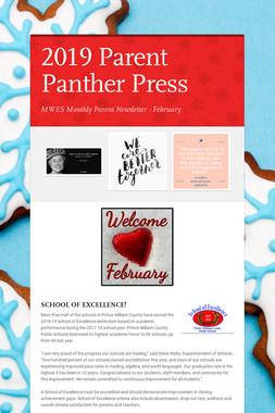 2019 Parent Panther Press