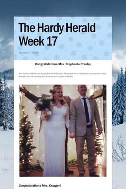 The Hardy Herald Week 17