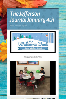 The Jefferson Journal January 4th