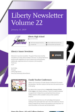 Liberty Newsletter Volume 22