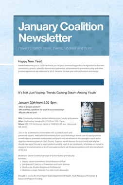January Coalition Newsletter