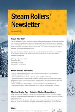 Steam Rollers' Newsletter