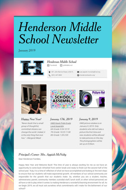 Henderson Middle School Newsletter