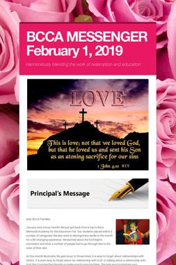 BCCA MESSENGER  February 1, 2019