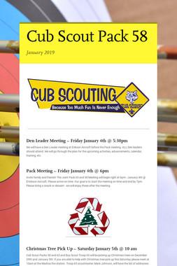 Cub Scout Pack 58