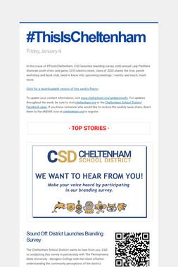 #ThisIsCheltenham