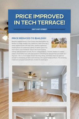 Price Improved in Tech Terrace!