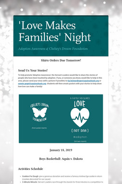 'Love Makes Families' Night