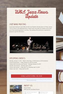UHS Jazz News Update