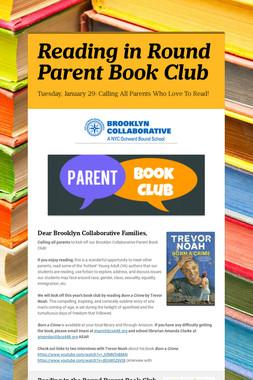 Reading in Round Parent Book Club