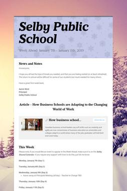 Selby Public School