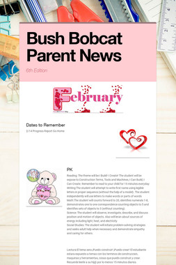 Bush Bobcat Parent News