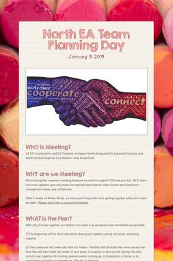 North EA Team Planning Day