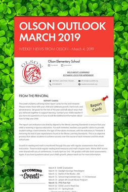 OLSON OUTLOOK   MARCH 2019