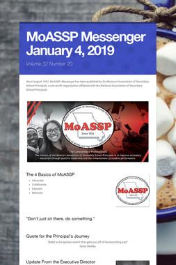 MoASSP Messenger January 4, 2019