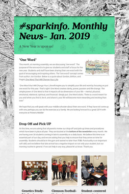 #sparkinfo. Monthly News- Jan. 2019