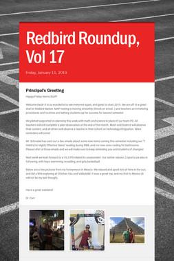 Redbird Roundup, Vol 17