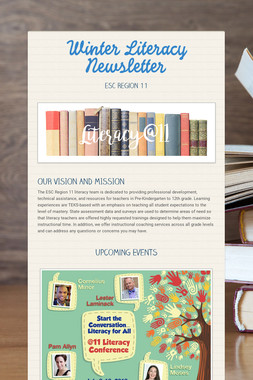 Winter Literacy Newsletter