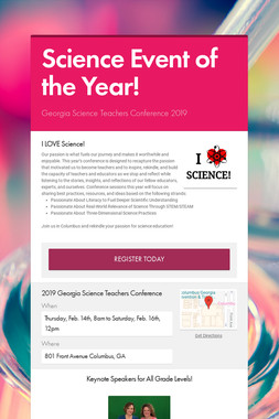 Science Event of the Year!
