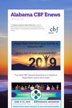 Alabama CBF Enews
