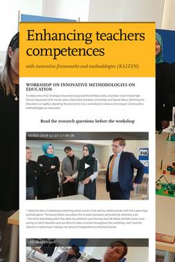 Enhancing teachers competences