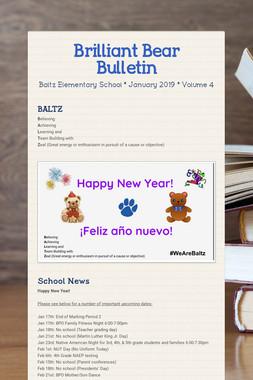 Brilliant Bear Bulletin