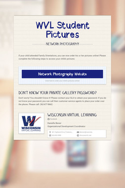 WVL Student Pictures