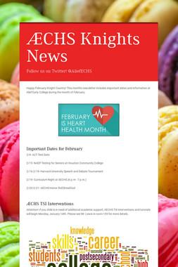 AECHS Knights News