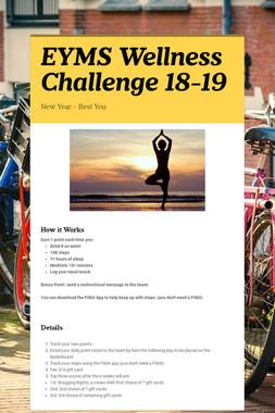 EYMS Wellness Challenge 18-19