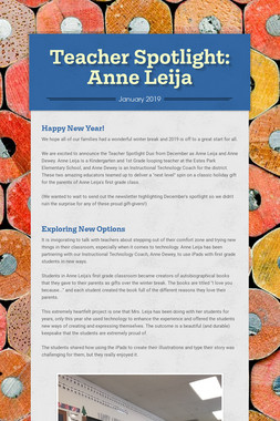 Teacher Spotlight: Anne Leija