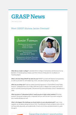 GRASP News