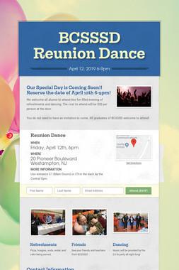 BCSSSD Reunion Dance