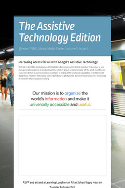 The Assistive Technology Edition