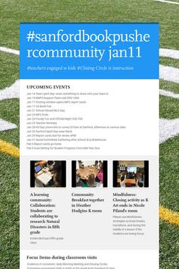 #sanfordbookpushercommunity jan11