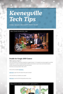 Keeneyville Tech Tips