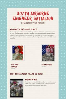 307th Airborne Enigneer Battalion