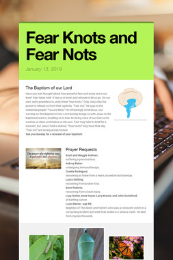 Fear Knots and Fear Nots