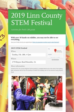 2019 Linn County STEM Festival