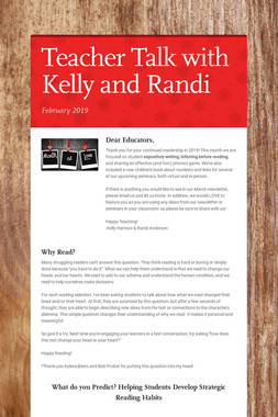 Teacher Talk with Kelly and Randi