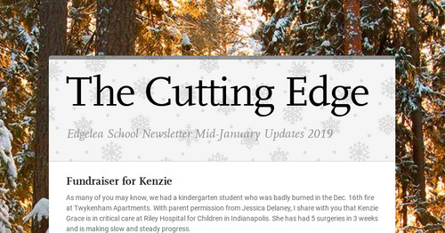The Cutting Edge | Smore Newsletters for Education