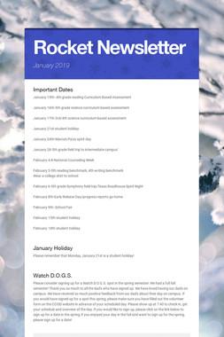 Rocket Newsletter