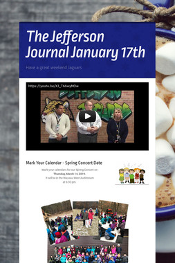 The Jefferson Journal January 17th