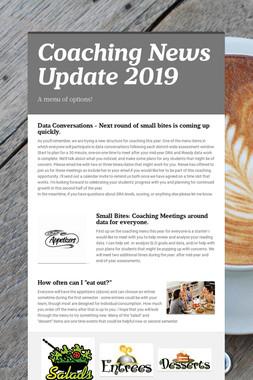 Coaching News Update 2019