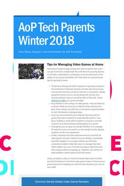 AoP Tech Parents Winter 2018
