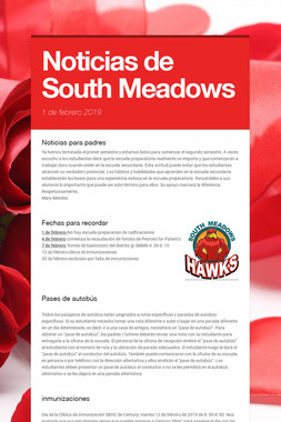 Noticias de South Meadows