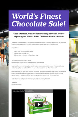 World's Finest Chocolate Sale!